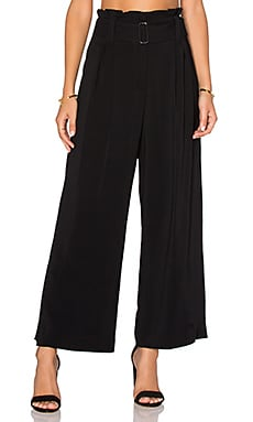 Dillon Gaucho Pant in Black