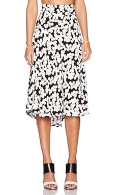A.L.C. Corso Skirt in Black & White