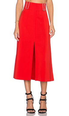 A.L.C. Baker Skirt in Tomato