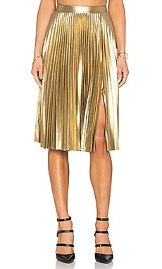 A.L.C. Gates Skirt in Gold