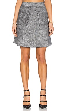 A.L.C. Aaron Skirt in Silver