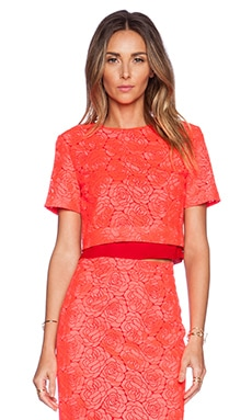A.L.C. Thompson Top in Neon Pink