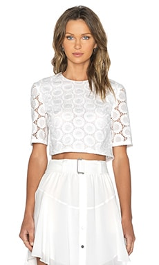 A.L.C. Fremont Top in White