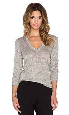 A.L.C. McGraw Top in Heather Grey