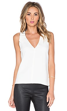 A.L.C. Baxley Top in White