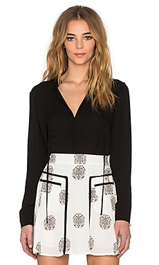 A.L.C. Danielle Blouse in Black