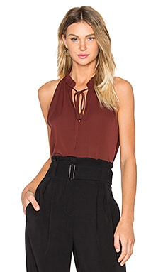 Ivy Top in Raisin
