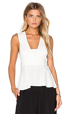 Leigh Top in White