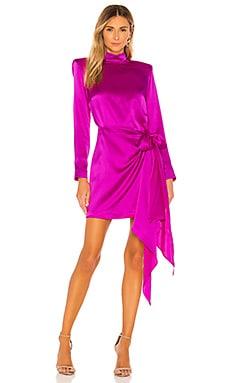 x REVOLVE Yasmine Knot Dress Amanda Uprichard $325 NEW ARRIVAL