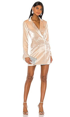 X REVOLVE Velvet Allix Blazer Dress Amanda Uprichard $335 NEW ARRIVAL