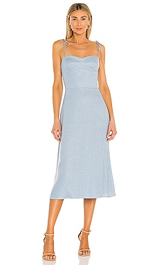 X REVOLVE Cava Midi Dress Amanda Uprichard $260 BEST SELLER