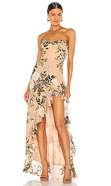 X REVOLVE Eden Gown Amanda Uprichard $301 NEW