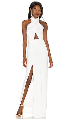 X REVOLVE Zahara Gown Amanda Uprichard $260 BEST SELLER