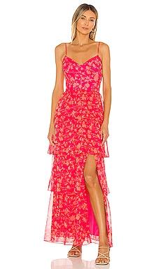 Thaddea Maxi Dress Amanda Uprichard $308