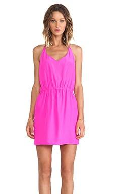 Amanda Uprichard Multi Strap Dress in Hot Pink