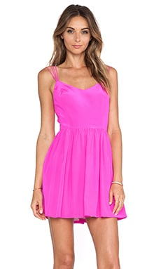 Afternoon Dress en Rose Vif
