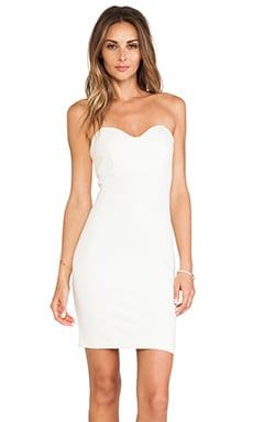 Amanda Uprichard Pipe Dress in Ivory
