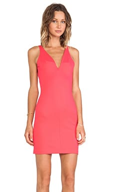Amanda Uprichard Saltaire Dress in Electric Rouge