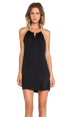 Amanda Uprichard Chain Neck Dress in Black