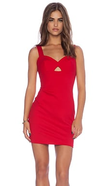 Amanda Uprichard Royce Dress in Red