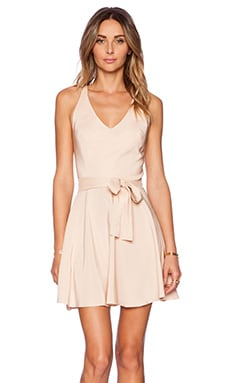 Amanda Uprichard Louisa Dress in Bisque