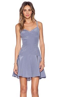 Amanda Uprichard Cadillac Dress in Pewter