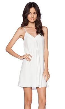 Amanda Uprichard Jamily Dress in Ivory