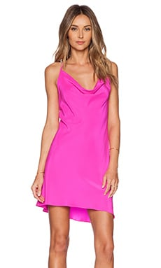 Amanda Uprichard Waverly Dress in Hot Pink Light