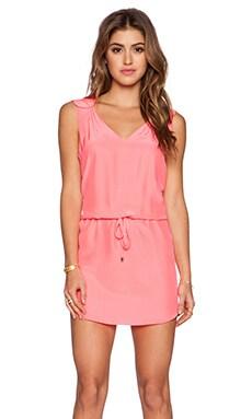 Amanda Uprichard Shenendoah Dress in Fluro Pink
