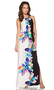 Amanda Uprichard Perry Maxi Dress in Bali Flower Print