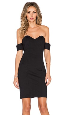 Amanda Uprichard Shalimar Dress in Black