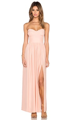 Amanda Uprichard Gisele Maxi Dress in Ballet