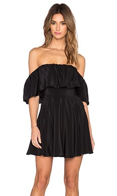 Amanda Uprichard Delilah Dress in Black