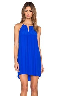 Amanda Uprichard Chain Dress in Royal