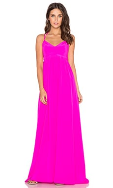 Amanda Uprichard Kingston Gown in Hot Pink Light