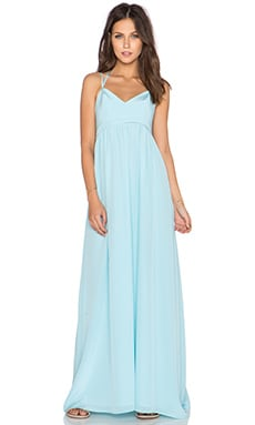 Amanda Uprichard Kingston Gown in Ice Blue