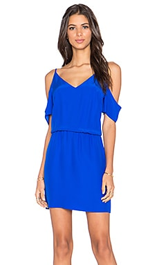Amanda Uprichard Teagan Mini Dress in Royal