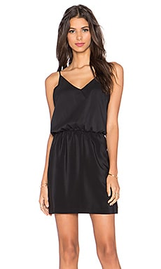 Amanda Uprichard Ashton Mini Dress in Black