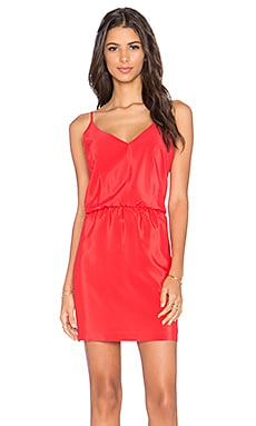 Amanda Uprichard Ashton Mini Dress in Candy Apple
