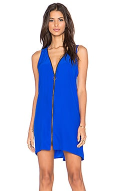 Amanda Uprichard Maria Mini Dress in Royal