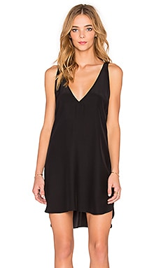 Amanda Uprichard Vita Dress in Black