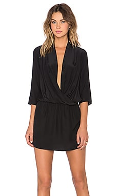 Amanda Uprichard Paloma Dress in Black