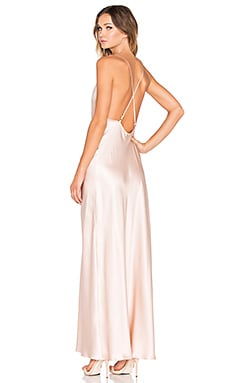 Amanda Uprichard x REVOLVE Waverly Maxi Dress in Bisque