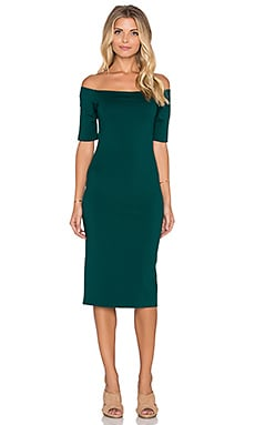 Amanda Uprichard Electra Dress in Evergreen
