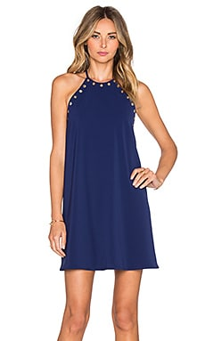 Amanda Uprichard Montauk Mini Dress in Navy