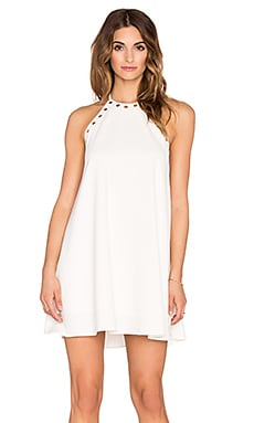 Montauk Mini Dress en Ivory