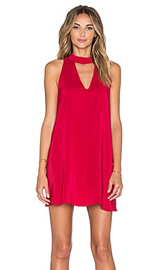 Amanda Uprichard Cassia Dress in Cardinal