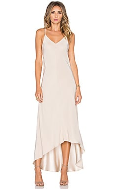 Amanda Uprichard Julia Maxi Dress in Desert