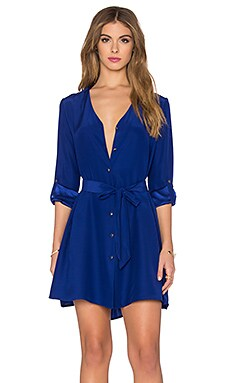 Amanda Uprichard Gina Dress in Sapphire