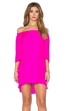 Amanda Uprichard Nirvana Dress in Hot Pink Light